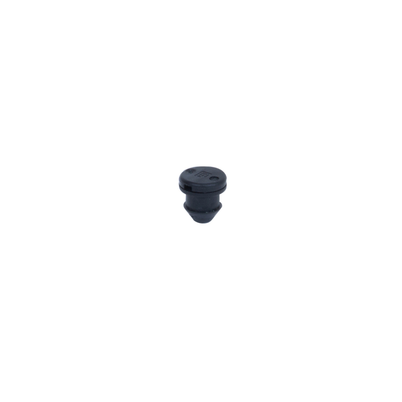 "0.6 GPH black emitter with ""O"" Ring for  the Maverick 12-Outlet Drip Manifold"