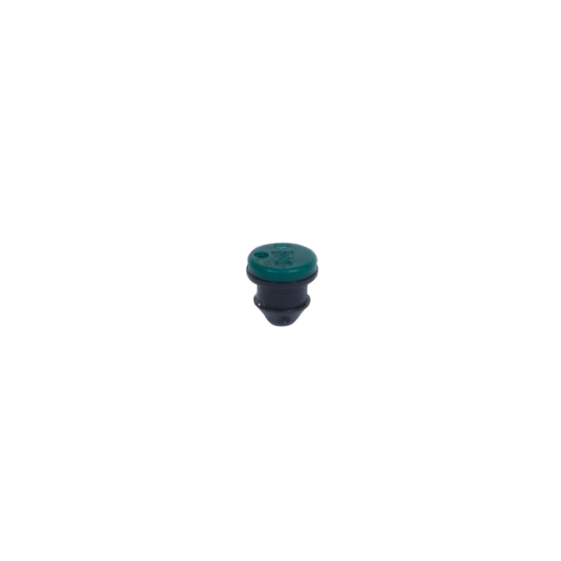 "2.2 GPH green emitter with ""O"" Ring for  the Maverick 12-Outlet Drip Manifold"